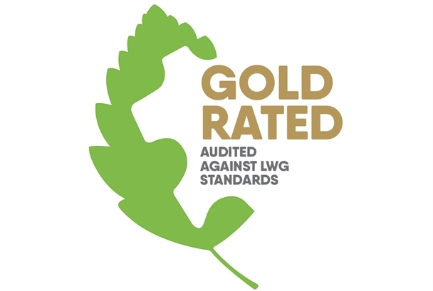 Gold rated - Audited against LWG standards