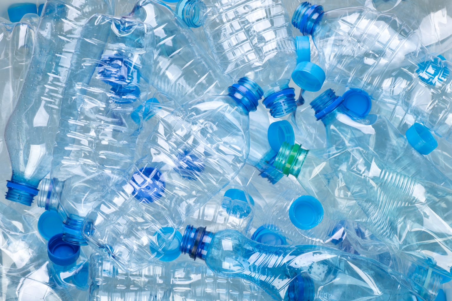 Eco-recycled - PET from recycled water bottles