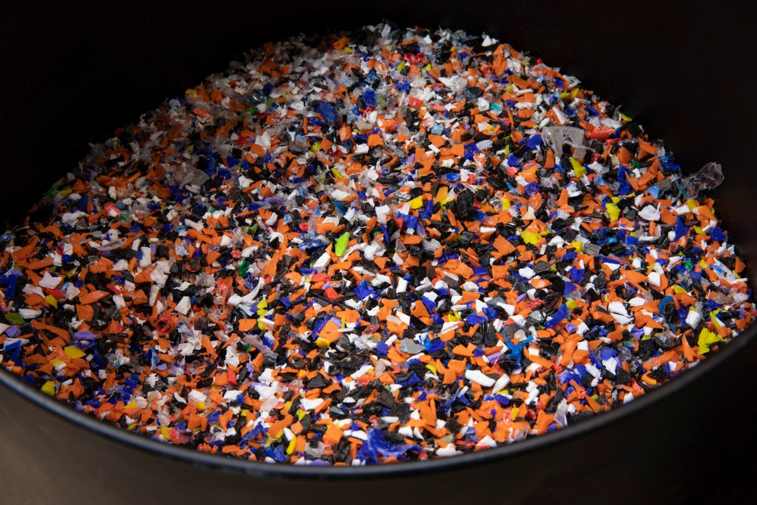 Eco-recycled - Recycling 100% of industrial plastic waste